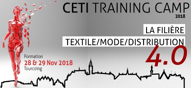 «LA FILIÈRE TEXTILE /MODE /DISTRIBUTION 4.0»